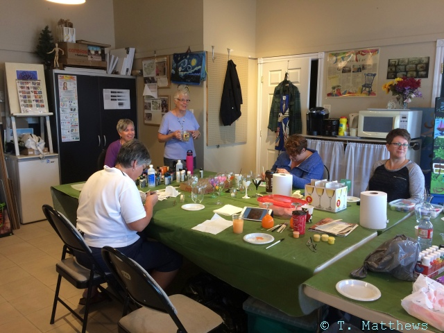 2017 Glass Painting Workshop